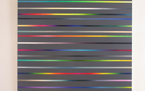 © Gabi Mitterer, O.T. (FV_1_05, Acryl/Öl auf Baumwolle, 130 x 150 cm, 2005