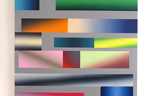 © Gabi Mitterer, O.T. (FV_2_05), Acryl/Öl auf Baumwolle, 130 x 150 cm, 2005