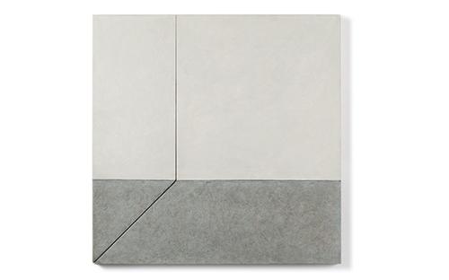 © Günther Wolfsberger, Modul 1, Acryl/Leinen auf Holz kaschiert, 80 x 80 x 2,5 cm, 2006