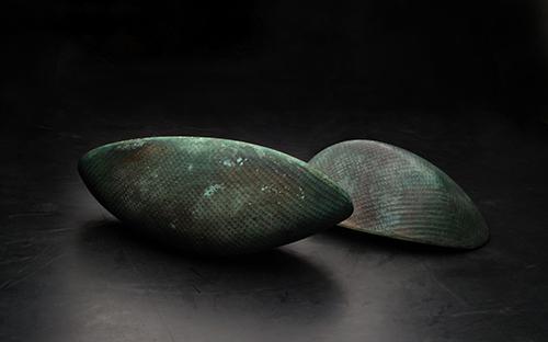 © Günther Wolfsberger, Kerne, Bronze, Niro, Beton, seit 1998