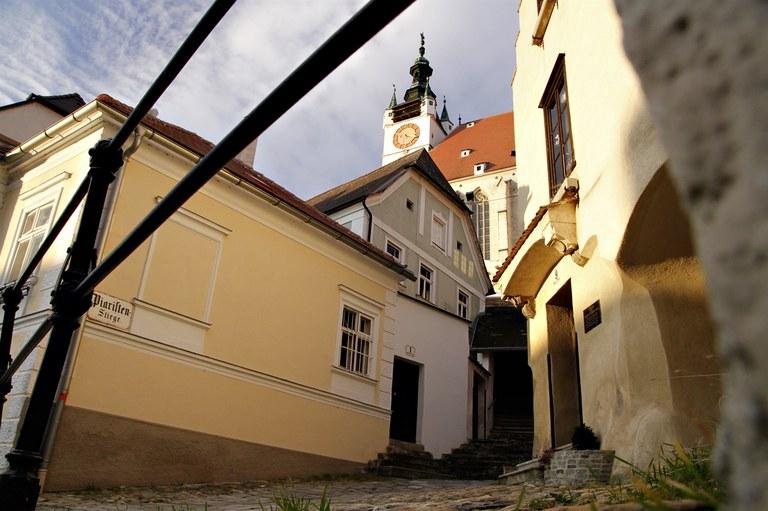 © Stadt Krems, Altstadt, Blick auf Piaristenkirche