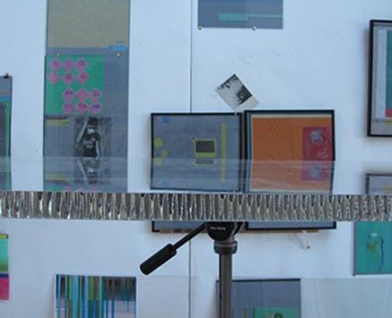 © Michael Wegerer, 淘宝网 (Taobao), 2012, Zeichnungen auf Transparentpapier, Yangshan Harbour Fundstücke, Glasinstallation, 30 x 40 cm