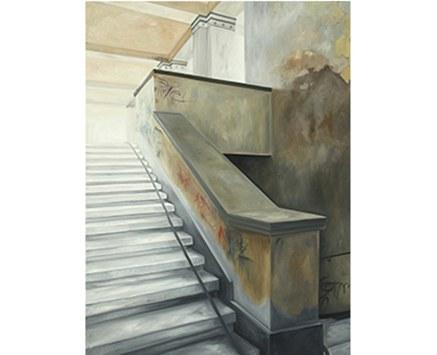 © Maria Temnitschka, lost in time 13, 2011, Öl/Leinwand, 120x90 cm